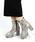 minia(ミニア)の「チャンキーヒール厚底ミドルブーツ [ minia ] ≪2019AW再販&新色はパイソン≫(ブーツ)」 パイソン