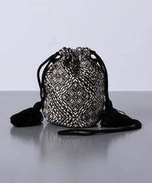 <Fatima Morocco(ファティマモロッコ)>フェズ 巾着バッグ