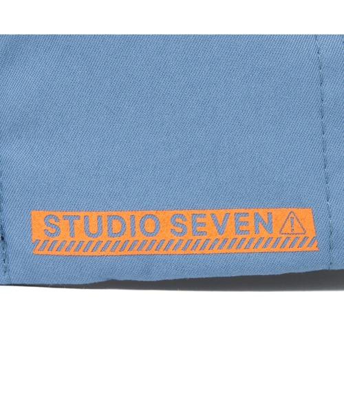 STUDIO SEVEN(スタジオ セブン)の「Kijima Takayuki STUDIO SEVEN Caution Teck Cap(キャップ)」|詳細画像