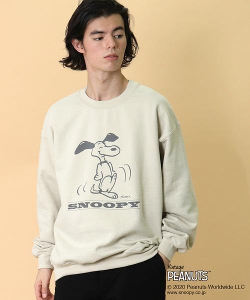 【 Vintage PEANUTS 】 ヴィンテージ ピーナッツ Snoopy SWEAT スヌーピー スウェット
