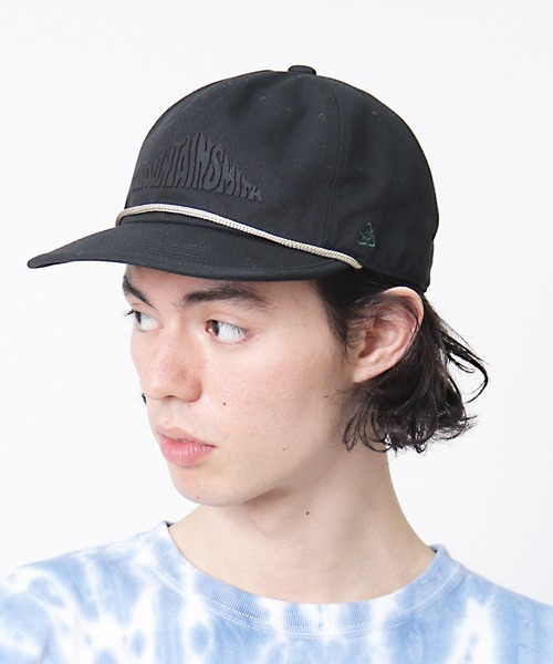【 MOUNTAIN SMITH / マウンテンスミス 】 RECYCLED COTTON CAP リサイクル コットン キャップ