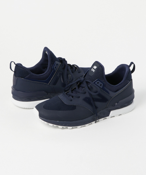 huge discount 55f07 7e227 New Balance ニューバランス MS574SNV(D) NAVY(SNV)