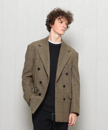 <H>LOVAT TWEED DOUBLE 6B JACKET/ジャケット