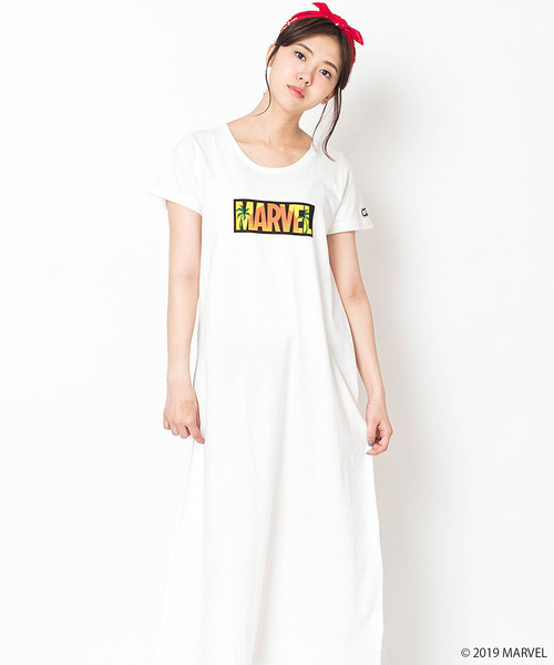 【OUTDOOR PRODUCTS】MARVEL キャラワンピース