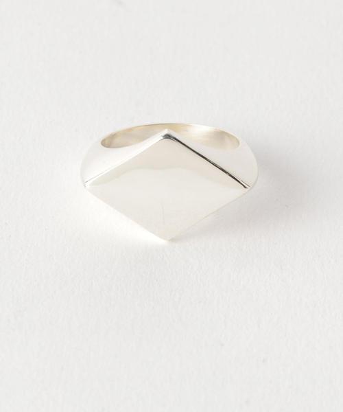 <LAVER> DIAMOND SIGNET RG/リング