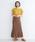 merlot(メルロー)の「タックスリーブプルオーバー079-7196(Tシャツ/カットソー)」|詳細画像