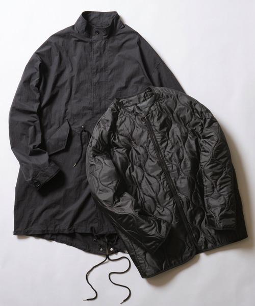 【コート/ライナーセット商品】M-65 コットンナイロン ライナー付き オーバーサイズモッズコート
