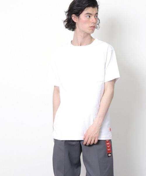 【 Healthknit / ヘルスニット 】マックスウェイト クルーネック半袖ポケットTシャツ SIP 7802