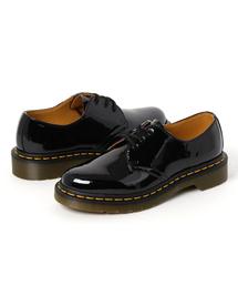 Dr.Martens(ドクターマーチン)のAIRWAIR ドクターマーチン 1461 PATENT 3 EYE BLACK PATENT(ブーツ)
