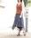 mysty woman(ミスティウーマン)の「ギンガムチェック柄イレヘムフレアスカート(スカート)」|詳細画像