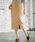 apart by lowrys(アパートバイローリーズ)の「Pカルゼカラーポケタイトスカート  812627(スカート)」|ベージュ
