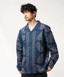 STUSSY(ステューシー)のBig Paisley L/SL Shirt(シャツ/ブラウス)