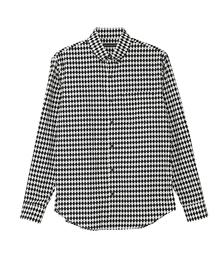 DIAMOND PATTERN総柄 ボタンダウンシャツ