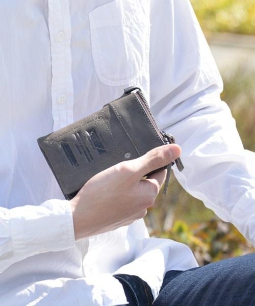 【DEVICE/デバイス】Work 二つ折り財布