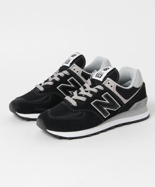 finest selection 4a054 4a7a8 NEW BALANCE ニューバランス ML574EGK BLACK