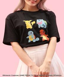 ∴WC/ポケモンプリントTシャツ(Tシャツ/カットソー)