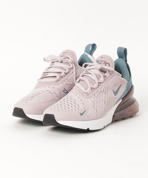 NIKE(ナイキ)の「NIKE W AIR MAX 270 (PARTICLE ROSE/CELESTIAL TEAL) 【SP】(スニーカー)」|ライトピンク
