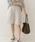 URBAN RESEARCH DOORS(アーバンリサーチドアーズ)の「リネンハーフパンツ(パンツ)」|アイボリー