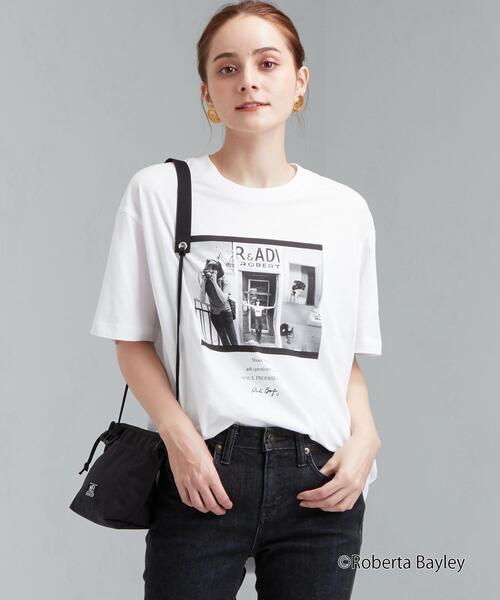 [ 別注 グッドロックスピード ] SC GOOD ROCK SPEED × GLR ROBERTA BAYLEY ショートスリーブ Tシャツ