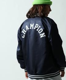 Champion(チャンピオン)の「Champion/チャンピオン 別注バーシティジャケット(ブルゾン)」