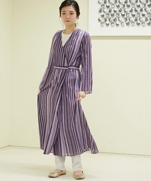 大切な コットンプリント ラップフレアワンピース(ワンピース) SOULEIADO(ソレイアード)のファッション通販, Pet館ペット館:770222dd --- svarogday.com
