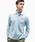 LACOSTE(ラコステ)の「オリジナルフィット 長袖 ポロシャツ(ポロシャツ)」|ライトブルー