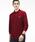 LACOSTE(ラコステ)の「オリジナルフィット 長袖 ポロシャツ(ポロシャツ)」|ワインレッド