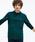 LACOSTE(ラコステ)の「オリジナルフィット 長袖 ポロシャツ(ポロシャツ)」|ダークグリーン