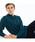LACOSTE(ラコステ)の「オリジナルフィット 長袖 ポロシャツ(ポロシャツ)」|ブルーグリーン