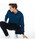 LACOSTE(ラコステ)の「オリジナルフィット 長袖 ポロシャツ(ポロシャツ)」|グレイッシュブルー