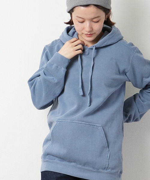 【 COMFORT COLORS / コンフォート カラーズ 】Garment Dyed Parka ガーメントダイパーカー 1567