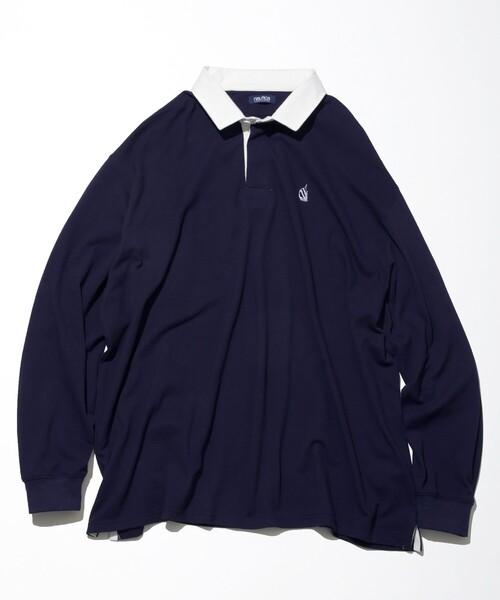 NAUTICA/ノーティカ Oversized Rugger Shirt/オーバーサイズラガーシャツ
