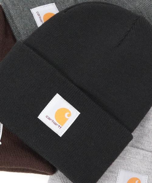 Carhartt(カーハート)のCARHARTT KNIT CAP ACRYLIC WATCH カーハート ニット帽 カフ アクリル ワッチ(ニットキャップ/ビーニー)