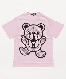 BANDANA BEAR 2018 pt Tシャツ【L】