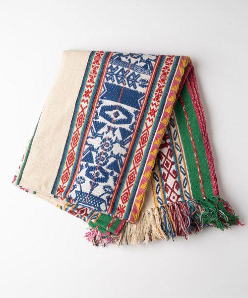 インド刺繍 ジャガードスロー