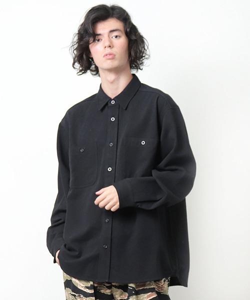 【 BIG MAC / ビッグマック 】 ワークシャツ BM21AW001 INS