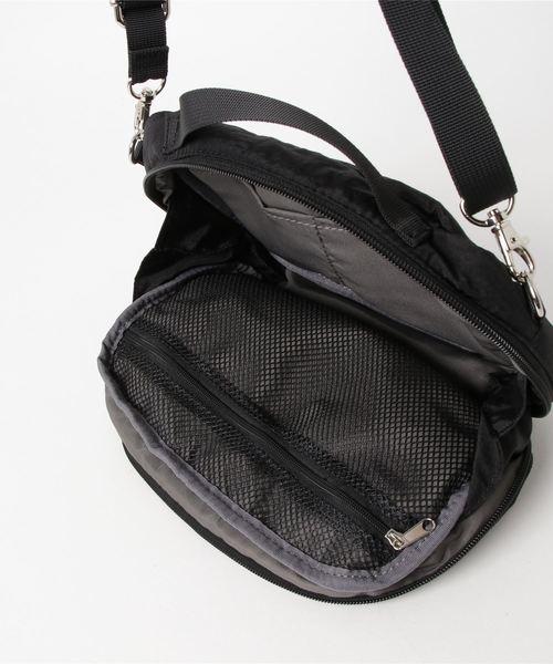 ANELLO / HDT 立体刺繍ネームマルチショルダーバッグ