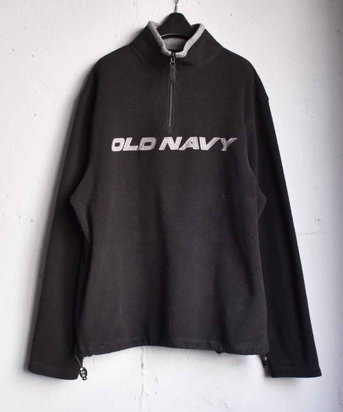 ヴィンテージ古着 old navy オールドネイビー ハーフジップ フリース