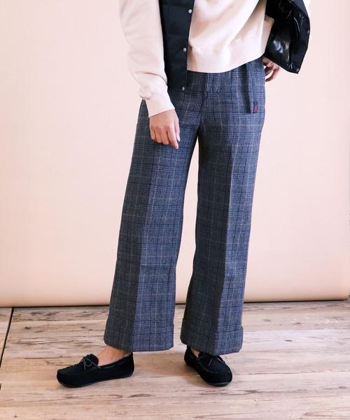 【 GRAMICCI / グラミチ 】WOOL BLEND DOUBLE MACKIN WIDE PANTS GLP-19F013