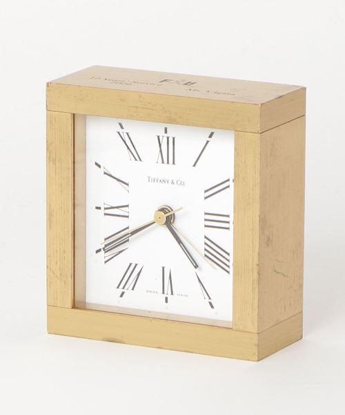 ★大人気商品★ ■ setagaya【fridge antique fridge】TIFFANY&Co. Clock(置時計) setagaya|fridge(フリッジ)のファッション通販, のあのはこぶね:78231123 --- pyme.pe