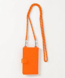 モノグラムマルチスマホカバーオレンジ